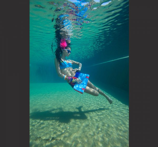 Underwater Fashion Photography - Punya Arora
