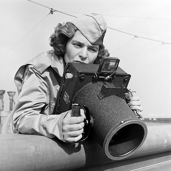 Alabama Chanin Women Who Inspire Margaret Bourke White (photo credit Time Magazine)